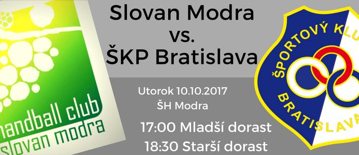 Dorast v utorok doma proti ŠKP Bratislava