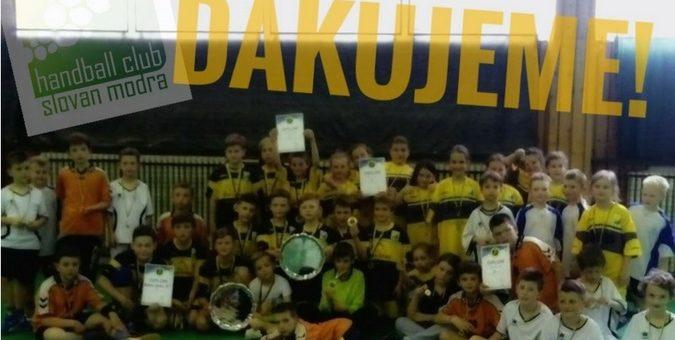 Víťazstvo v projekte pre podporu športu u mládeže.