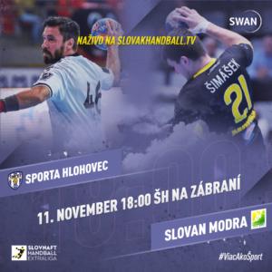 HC Sporta Hlohovec vs. HO Slovan Modra