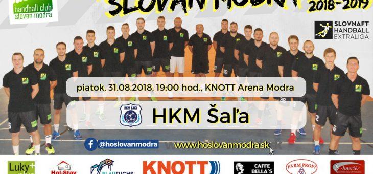 Pozvánka na domáci zápas proti HKM Šaľa