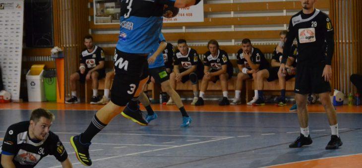 Slovan Modra – Agro Topoľčany 18:20 (8:10)